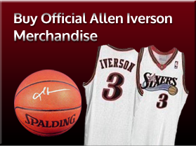 Buy Official Allen Iverson Merchandise